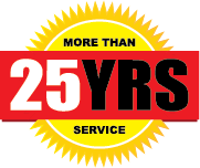 More Than 25 Years Service